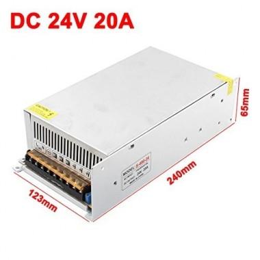 ADAPTOR 24V-20A صنعتی
