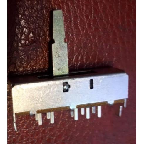 کلید کشویی 4 حالت 10 پایه دسته فلزی