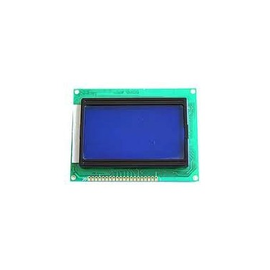 LCD 128*64 BLUE ST7920