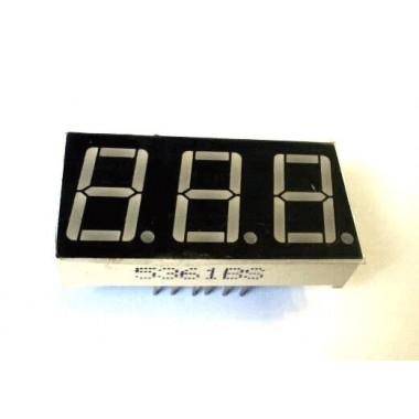 CA 7-SEG 3DIGIT-R (19*38)