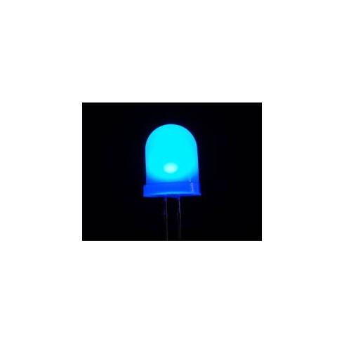 BLUE LED شفاف 10mm