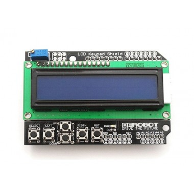 ARDUINO LCD2*16 SHIELD