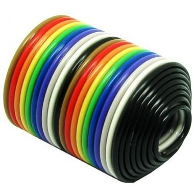 کابل فلت 20 رشته رنگی