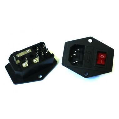 Power-PC Jack+Fuse+Key