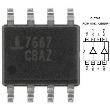 ICL7667CBA - SMD