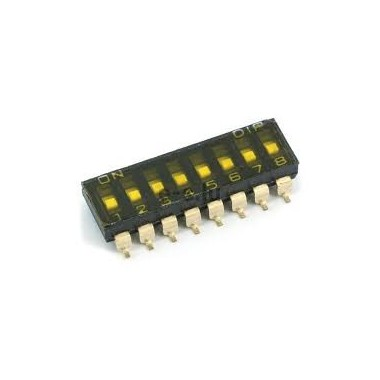 DIP SWITCH-08P SMD