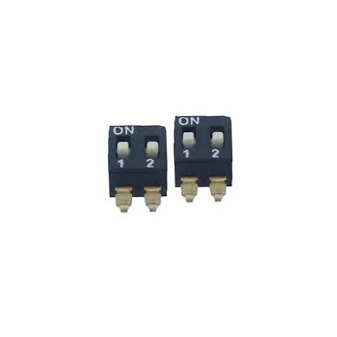 DIP SWITCH-02P SMD