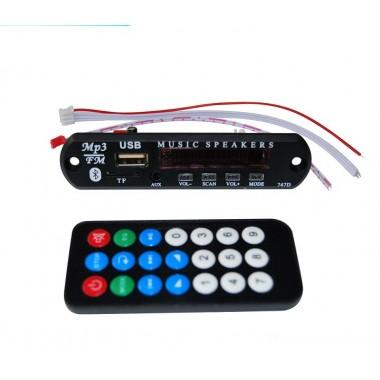 MP3-PLAYER-12V +Bluetooth