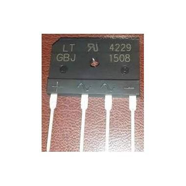 پل دیود 15A تخت GBJ1508