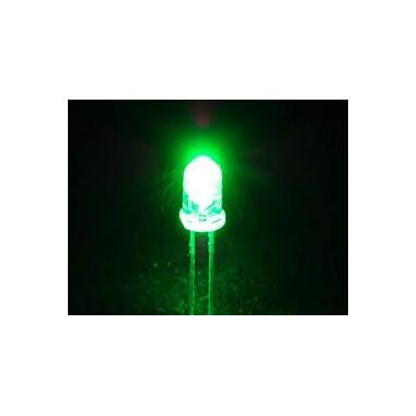 Green LEDشفاف 5m